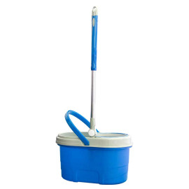 [Xả Kho] - Bộ lau nhà 360 độ TITO (HH Plastic) - Tặng kèm 01 Cây lau có bông + 01 Chai nước lau sàn Eztex Floor hương thơm 1 lít.