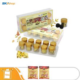 3 hộp viên hoàn hồng sâm Jeong Won 10 Viên/hộp - Tặng 2 gói kẹo sâm 200gr
