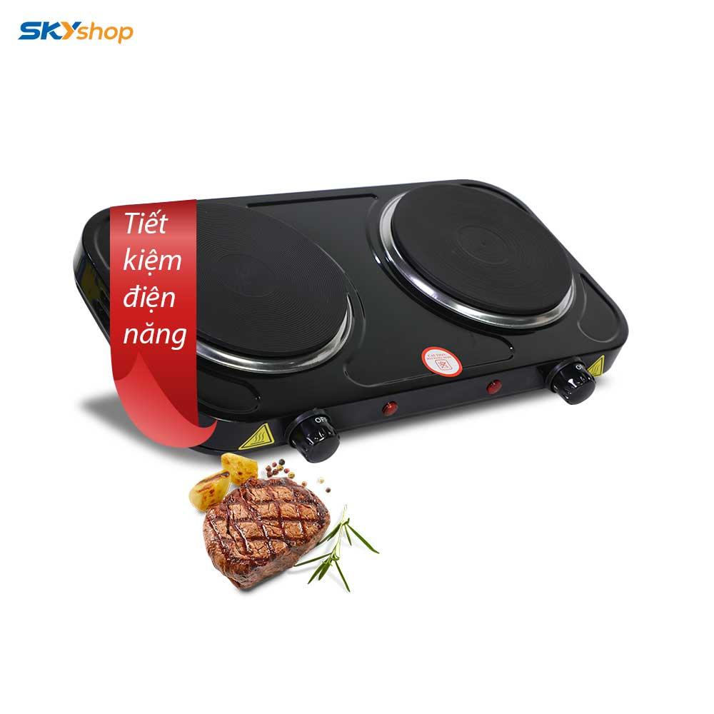 Bếp điện đôi PERFECT - Tặng kèm bộ dao 6 món