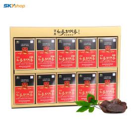 10 hộp sâm lát tẩm mật ong Yujim mỗi hộp 20gr -  Tặng 02 gói kẹo sâm 200gr